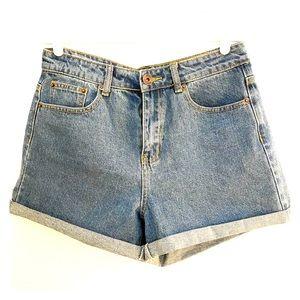 ASOS Liquor N Poker denim shorts
